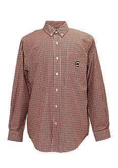 Campus Specialties South Carolina Gamecocks Tri-Color Check Woven Shirt