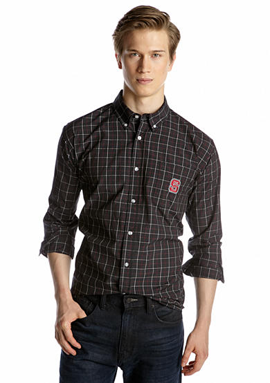 Campus Specialties NC State Wolfpack Plaid Woven Shirt