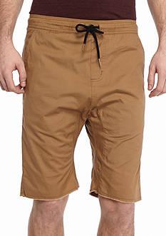 Chor Stretch Twill Jog Shorts