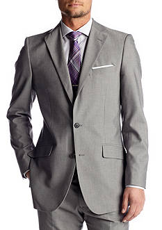 Madison Slim-Fit Light Gray Suit Separate Coat