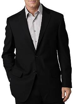 Geoffrey Beene Modern Fit Black Solid Suit Separate Jacket