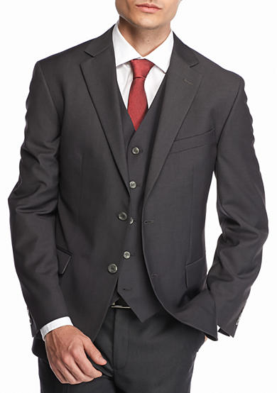 Geoffrey Beene Solid Modern-Fit Suit Separate Jacket