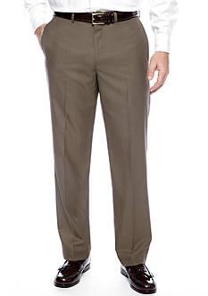Geoffrey Beene Slim Fit Flat Front Pants