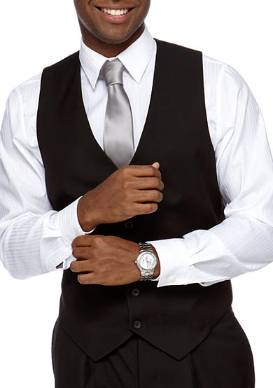 Modern Fit 2-Pocket Suit Separate Vest