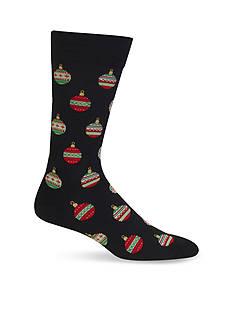 Hot Sox Christmas Ornaments Crew Socks - Single Pair