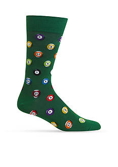 Hot Sox Billiard Balls Socks-Single Pair