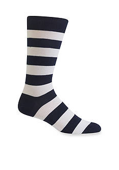 Hot Sox College Rugby Stripe Socks-Single Pair
