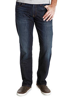 Lucky Brand 221 Original Straight Dark Wash Jean