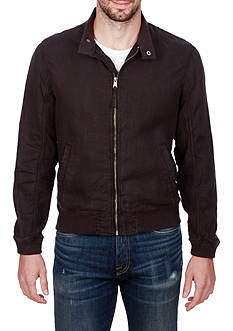Lucky Brand Linen Harrington Jacket