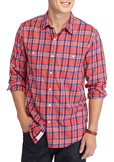 Lucky Brand Mason Plaid Workwear Shirt