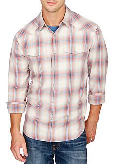 Lucky Brand Long Sleeve Santa Fe Western Shirt