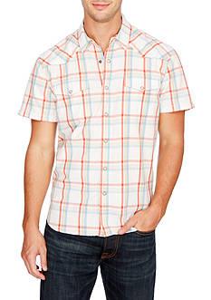 Lucky Brand Short Sleeve San Berdu Western Shirt