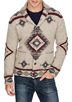 Lucky Brand Long Sleeve Fireside Shawl Collar Cardigan
