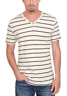 Lucky Brand Salt Point Y-Neckline Tee