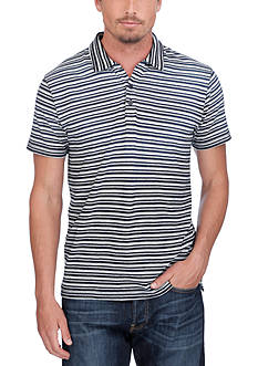 Lucky Brand Stripe Polo Shirt