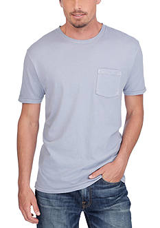 Lucky Brand Short Sleeve Pocket Crew Neck T-Shirt