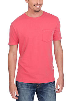 Lucky Brand Short Sleeve Pocket Crew Neck Tee
