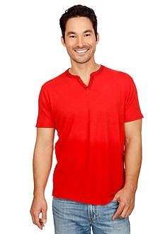 Lucky Brand Ringer Notch Neck Tee