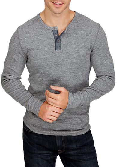 Lucky Brand Long Sleeve Lived In Henley Shirt