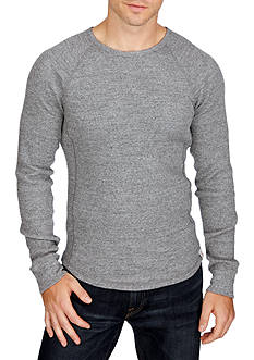 Lucky Brand Long Sleeve Lived In Thermal Crew Top