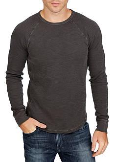 Lucky Brand Long Sleeve Thermal Crewneck Shirt