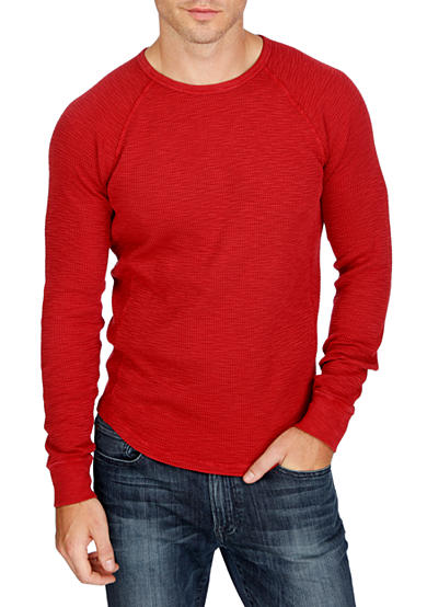 Lucky Brand Long Sleeve Thermal Crewneck Shirt