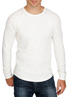 Lucky Brand Long Sleeve Thermal Crew Neck Shirt