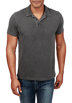 Lucky Brand Short Sleeve Washed Polo Shirt