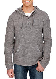 Lucky Brand Long Sleeve Gray Label Hoodley Hoodie