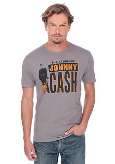 Lucky Brand Johnny Cash Poster Graphic Tee