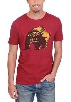 Lucky Brand Yosemite Bear Graphic Tee