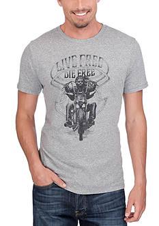 Lucky Brand Motorbike Graphic Tee