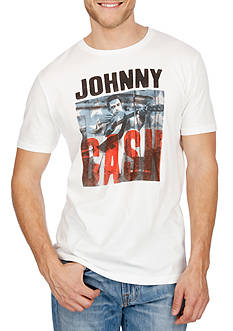 Lucky Brand Short Sleeve Johnny Cash Graphic Tee