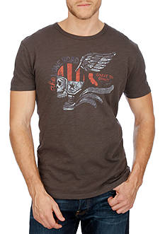 Lucky Brand Short Sleeve Lone Road Graphic Tee