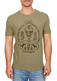 Lucky Brand Short Sleeve 'Moscow Mule' Graphic Tee