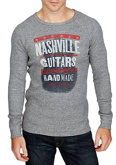 Lucky Brand Long Sleeve Nashville Thermal Crew Shirt