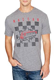 Lucky Brand Short Sleeve Nascar Checker Burst Graphic Tee