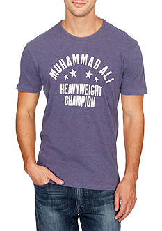 Lucky Brand Short Sleeve Muhammed Ali Graphic Tee