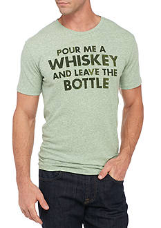 Lucky Brand Short Sleeve Pour A Whiskey Graphic Tee