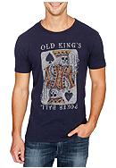 Lucky Brand Short Sleeve Kings Poker Hall Graphic