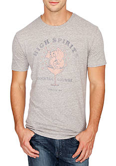 Lucky Brand Short Sleeve High Spirits Graphic Tee