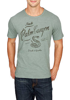 Lucky Brand Short Sleeve Palm Canyon Graphic Tee