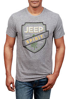 Lucky Brand Short Sleeve Jeep Spirit Graphic Tee