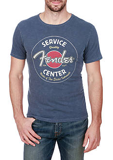 Lucky Brand Short Sleeve Fender® Graphic Tee