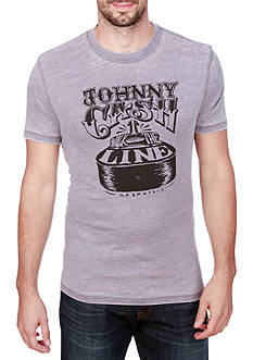 Lucky Brand Short Sleeve Cash Guitar Graphic Tee