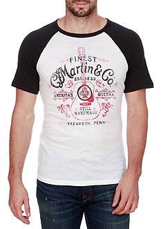 Lucky Brand Short Sleeve Martin Springs Graphic Tee