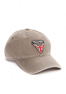 Lucky Brand Triumph Motorcycle Badge Cap