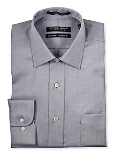 Forsyth of Canada Tailored-Fit Brock Herringbone Long Sleeve Dress Shirt
