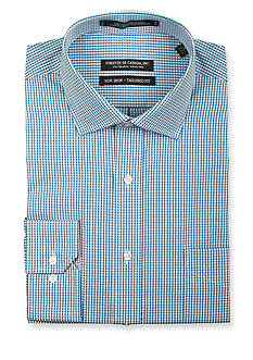 Forsyth of Canada Tailored-Fit Non-Iron Check Dress Shirt