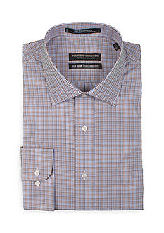 Forsyth of Canada Tailored-Fit Multi Check Long Sleeve Dress Shirt